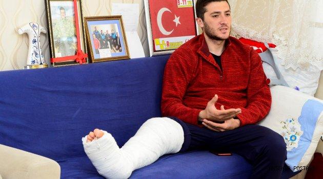 """Afrin Gazisi Serkan Köroğlu: """"Orada bir düğün havası var"""""""