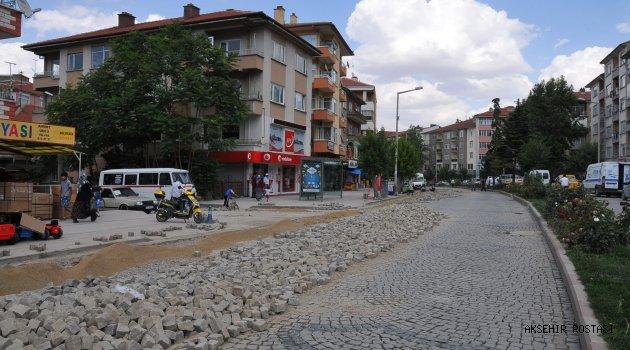 AKŞEHİR'DE KANALİZASYON ALT YAPI ÇALIŞMALARI BAŞLIYOR