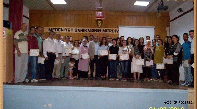 EĞİTİMİN NOBEL'i '' 2016'nın En Başarılı Öğretmen Ödülleri'' YUNAK'TA SAHİPLERİNİ BULDU