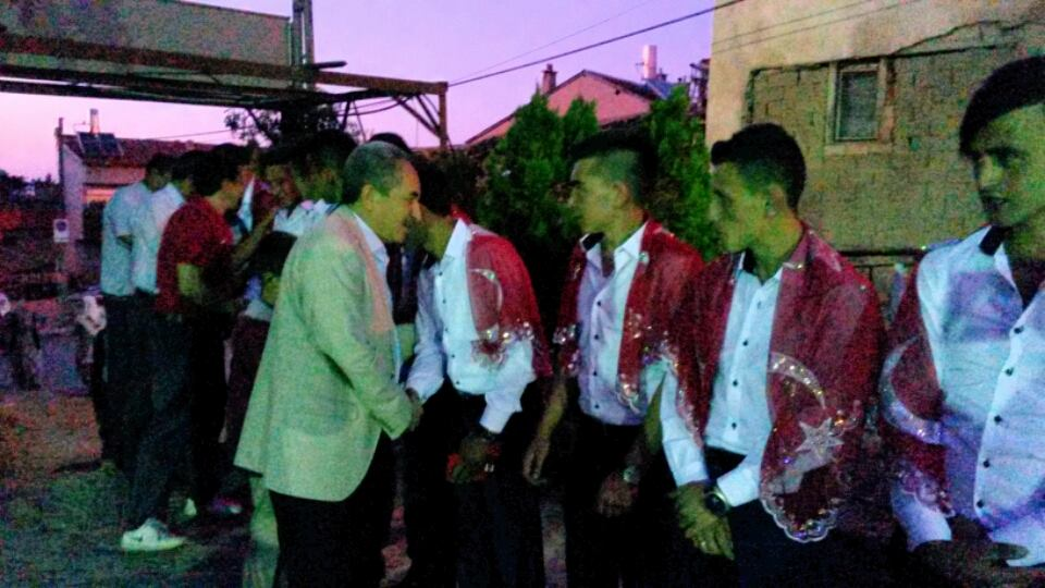 Başkan Akkaya asker gecesine katıldı