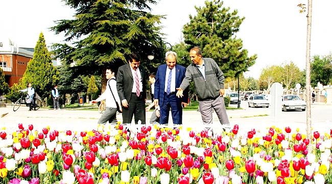 AKŞEHİR'E BAHAR GELDİ