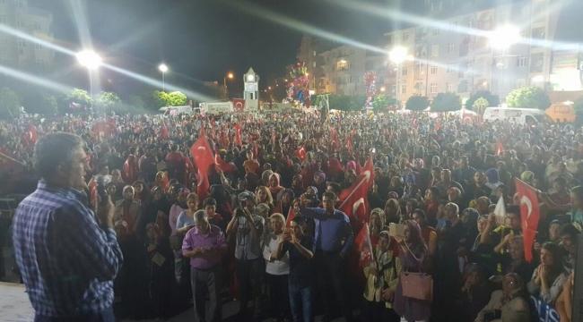 """Başkan Konuk: """"15 Temmuz demokrasinin zaferi, güçlü Türkiye şehitlerin eseri"""""""