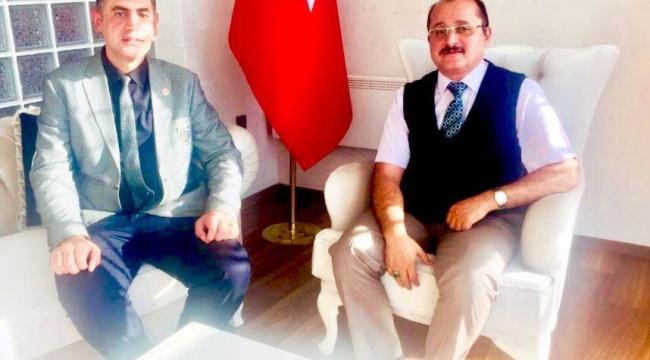 KAYMAKAM TÜRK'E AHİLİK HELVASI İKRAM EDİLDİ
