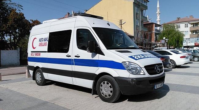 ÇELTİK BELEDİYESİ'NE AMBULANS