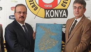 Vali Yakup Canbolat, gazetecilerle vedalaştı