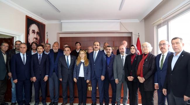 AK Parti Konya'dan MHP'ye teşekkür ziyareti