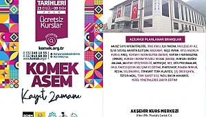 KOMEK / ASEM KAYITLARI BAŞLIYOR