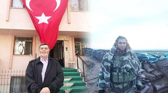 'ŞÜKÜR ŞEHİT BABASI OLMAKLA ŞEREFLENDİK!'