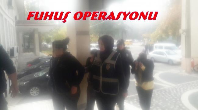 AKŞEHİR'DE FUHUŞ OPERASYONU