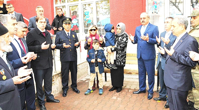 ŞEHİT POLİS BATTAL YILDIZ'IN İSMİ ANAOKULUNDA YAŞAYACAK