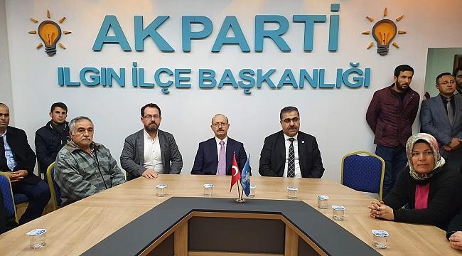ILGIN AK PARTİ 73. İLÇE DANIŞMA MECLİS TOPLANTISI YAPILDI