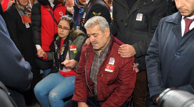 ŞEHİT UZMAN ÇAVUŞ RECEP ÖZMEN'İ 10 BİN KİŞİ SON YOLCULUĞUNA UĞURLADI
