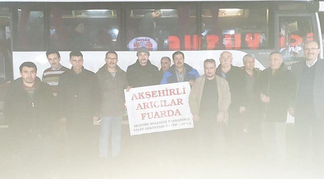 AKŞEHİR ARICILARI İSTANBUL'DA FUARA KATILDI