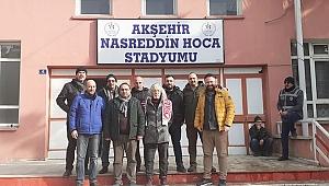 TURÇEV-DER'DEN AKŞEHİRSPOR'A DESTEK