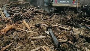 Yalvaç'ta iki kardeşin evi yandı