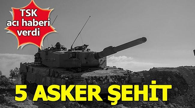 İDLİB'TEN ACI HABER 5 ŞEHİT