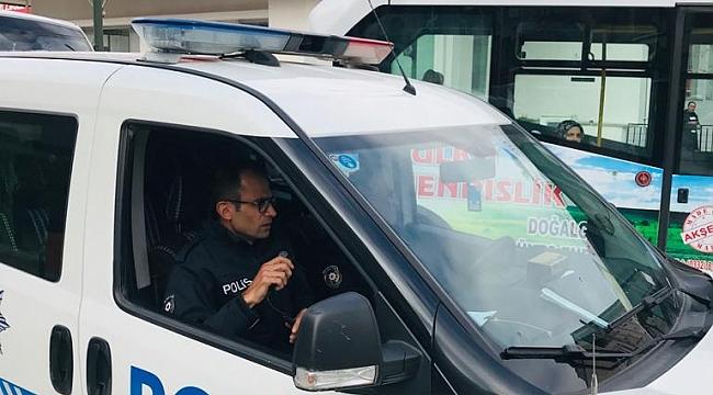 POLİS EKİPLERİ ANONSLA VATANDAŞLARI UYARDI