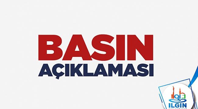 ILGIN BELEDİYE BAŞKANI ERTAŞ'TAN COVİD-19 AÇIKLAMASI