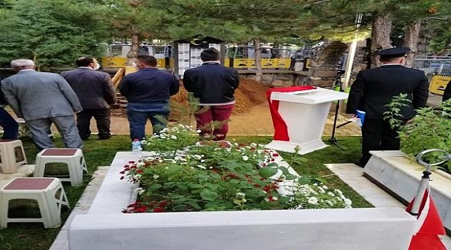 Şehit Uzman Çavuş, şehit olan kuzeninin mezarının yanına defnedildi