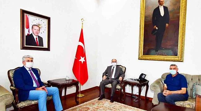 KGC'DEN KONYA VALİSİ VAHDETTİN ÖZKAN'A ZİYARET
