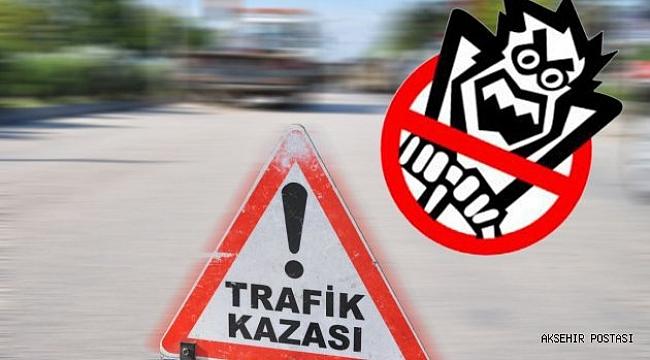 TAKTAK KAZASINDA 1 KİŞİ ÖLDÜ 5 KİŞİ YARALANDI