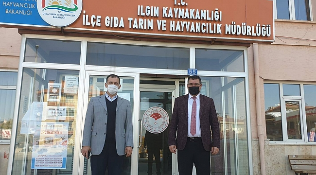 S.Ü. ZİRAAT FAKÜLTESİ DEKANI PROF. DR. ZEKİ BAYRAMOĞLU'DAN  ILGIN İLÇESİNE ZİYARET