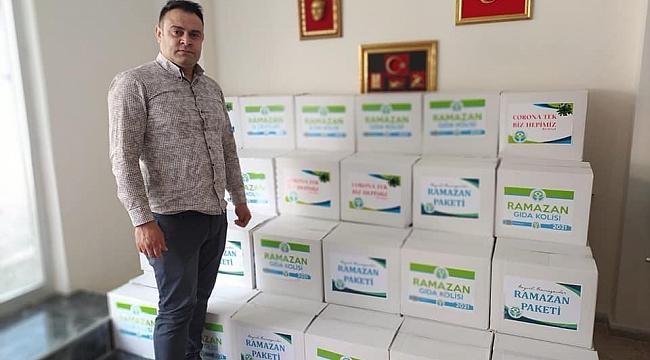 ÇELDER'DEN  RAMAZAN KOLİSİ YARDIMI