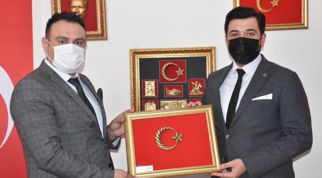 ÇELDER'E ZİYARETLER DEVAM EDİYOR