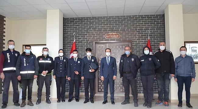 ÇELTİK'TE POLİS HAFTASI KUTLANDI