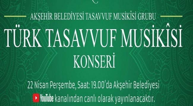 TÜRK TASAVVUF MUSİKÎSİ KONSERİ