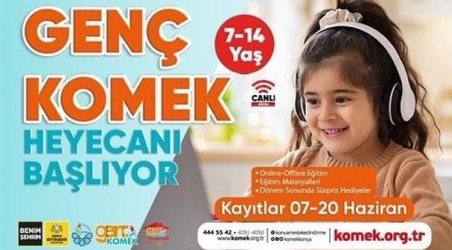 GENÇ KOMEK'TE KAYITLAR DEVAM EDİYOR
