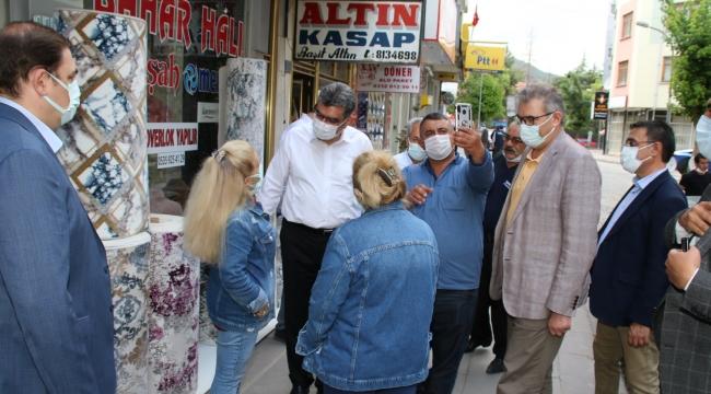 MİLLETVEKİLİ ERDEM VE BAŞKAN AKKAYA'DAN ZİYARETLER VE İSTİŞARE TOPLANTISI