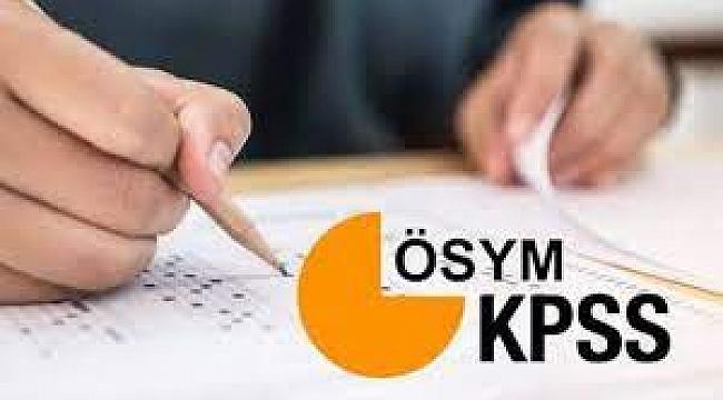 KPSS PAZAR GÜNÜ BAŞLIYOR