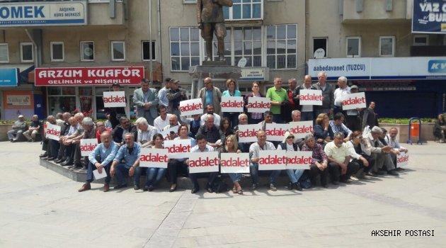 CHP' DEN OTURMA EYLEMİ