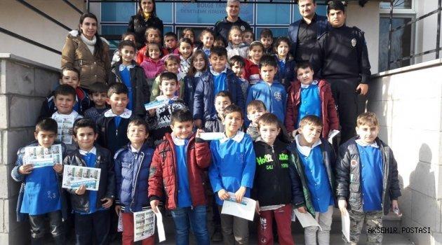 HAYDAR TUNA İLKOKULU'NDAN BÖLGE TRAFİK İSTASYON AMİRLİĞİ'NE ZİYARET