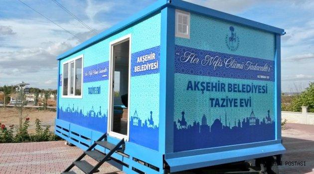 Akşehir  Belediyesi'nden taziye aracı hizmeti