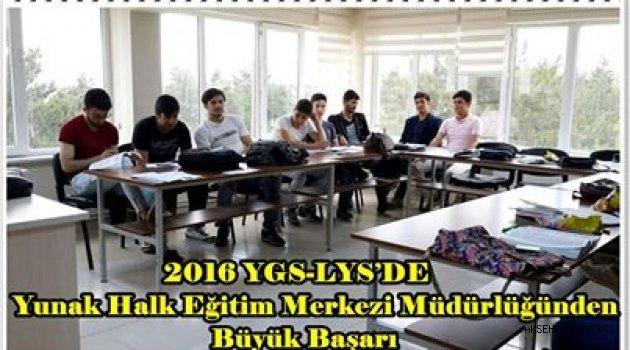 Yunak'ta DYK Kurslarına Katılan Öğrencilerin Büyük Başarısı