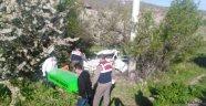 Akşehir'de Trafik Kazası : 2 Ölü 1 Yaralı