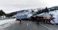 Afyonkarahisar'da zincirleme trafik kazası