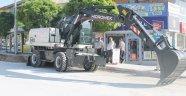 Yunak Belediyesi iş makinesi aldı