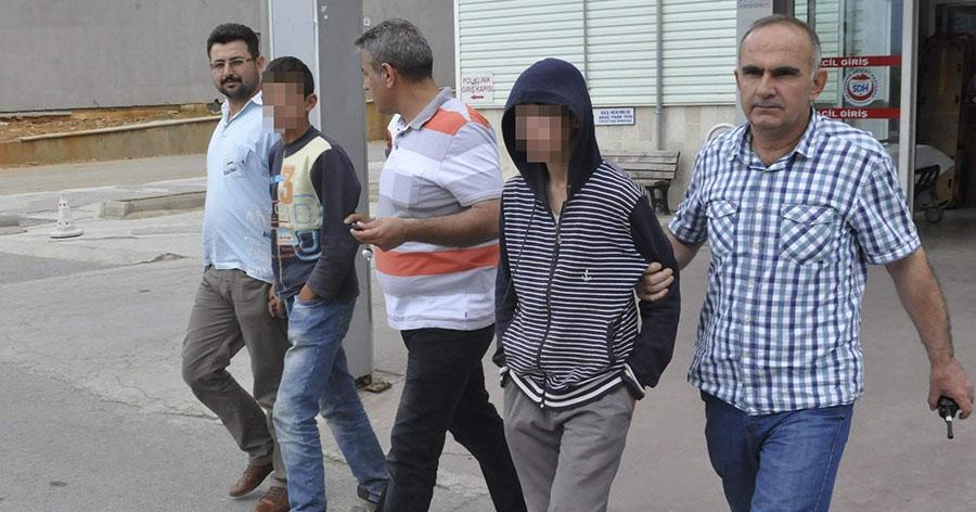 15 yaşındaki motosiklet hırsızları tutuklandı
