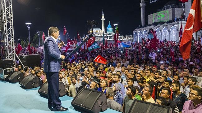 Ahmet Davutoğlu: Asla teslim olmayız