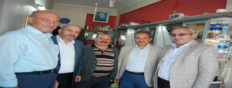 Baloğlu,memleketi akşehir'de temaslarda bulundu