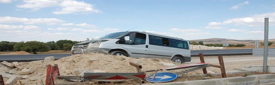 Kaçan araç akşehir'de yakalandı